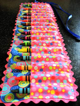 Rainbow crayon roll-up - Fashion, Sewing Patterns