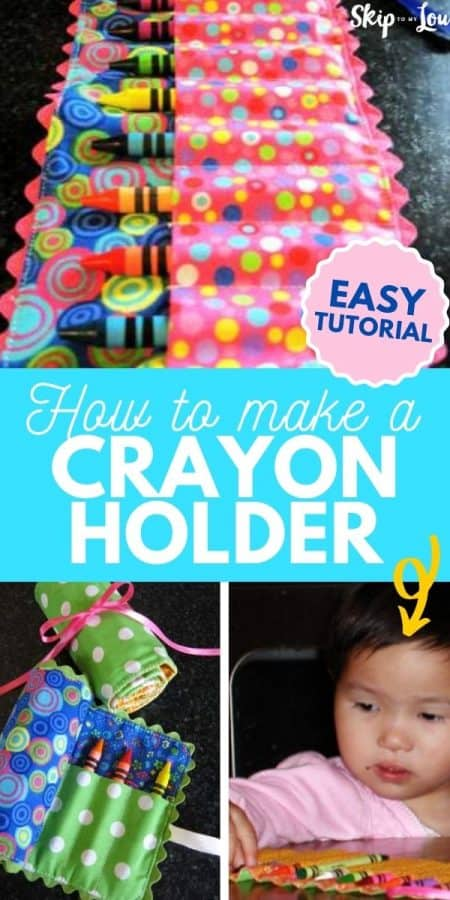 diy crayon roll holder PIN