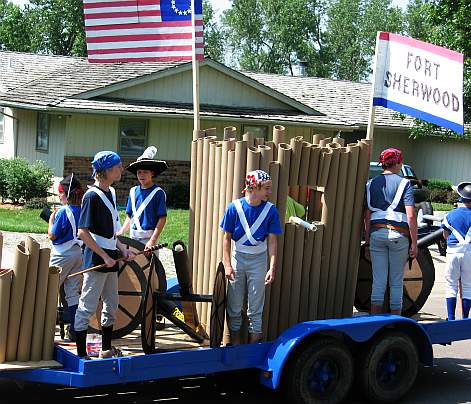 Fourth Of July Parade Floats Skip To My Lou