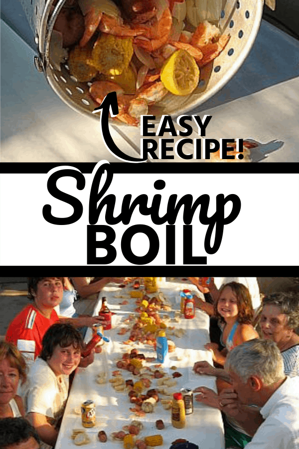 shrimp boil collage pinterest