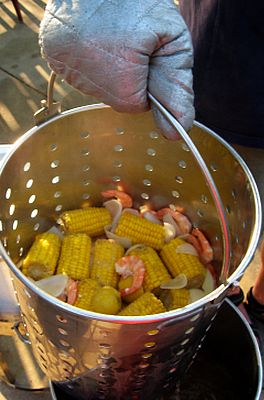 shrimp boil- training