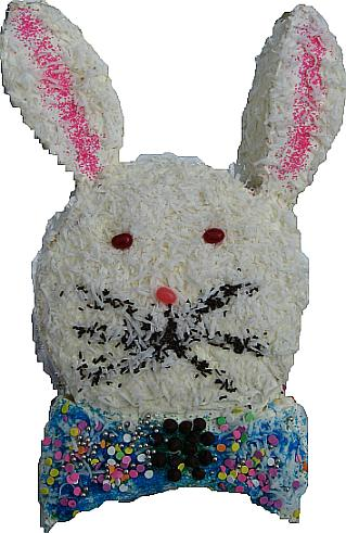 easter bunny cake pattern. Our boy decorated unny cake