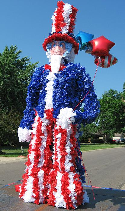 Fourth Of July Parade Float Ideas