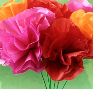 Crinkle paper flowers images flower decoration ideas crinkle paper flowers choice image flower decoration ideas bloggy book and craft a thon day 3 mightylinksfo