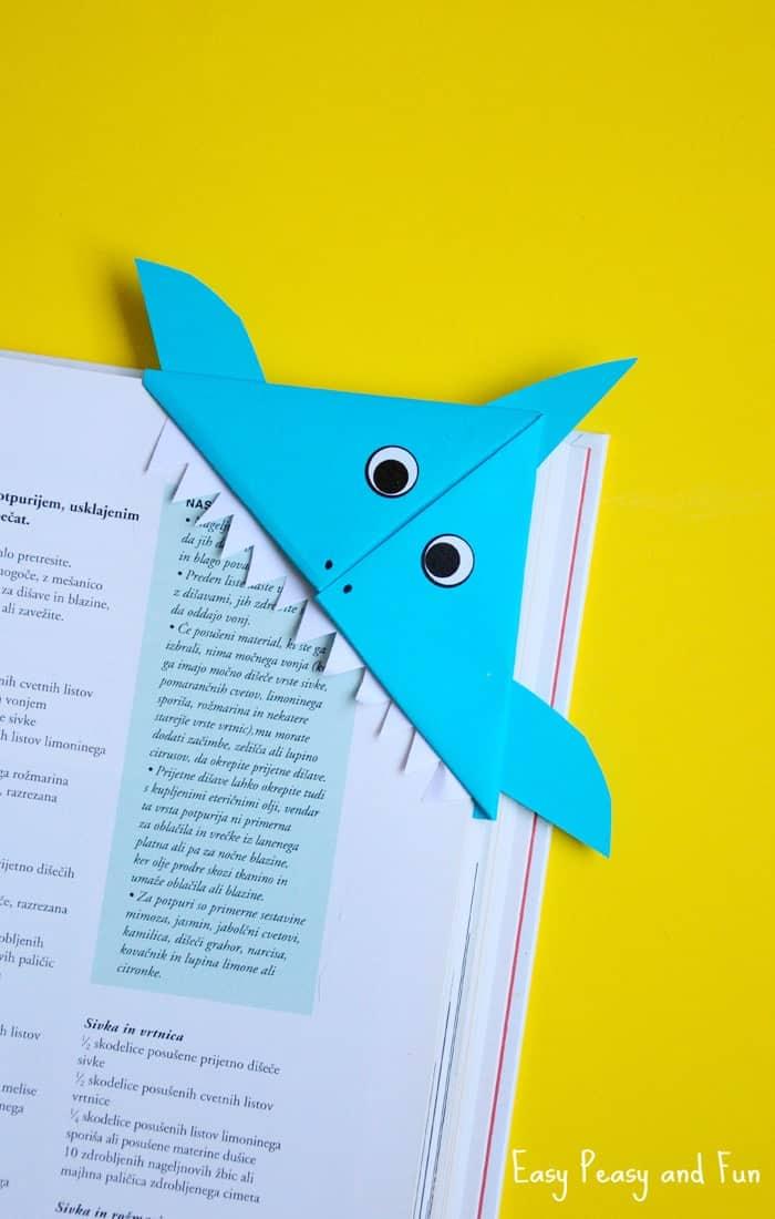 shark bookmark