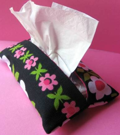How To Make A Pocket Tissue Holder