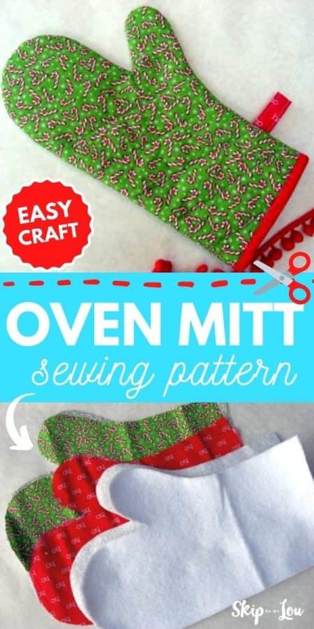 oven mitt sewing pattern PIN
