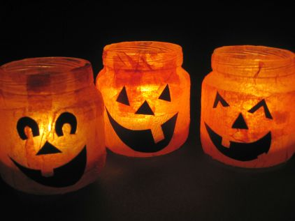 Halloween Craft Ideas Kids on Simple But Messy Halloween Craft You Need Just A Few Supplies My