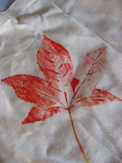 Leaf Prints | Skip To My Lou