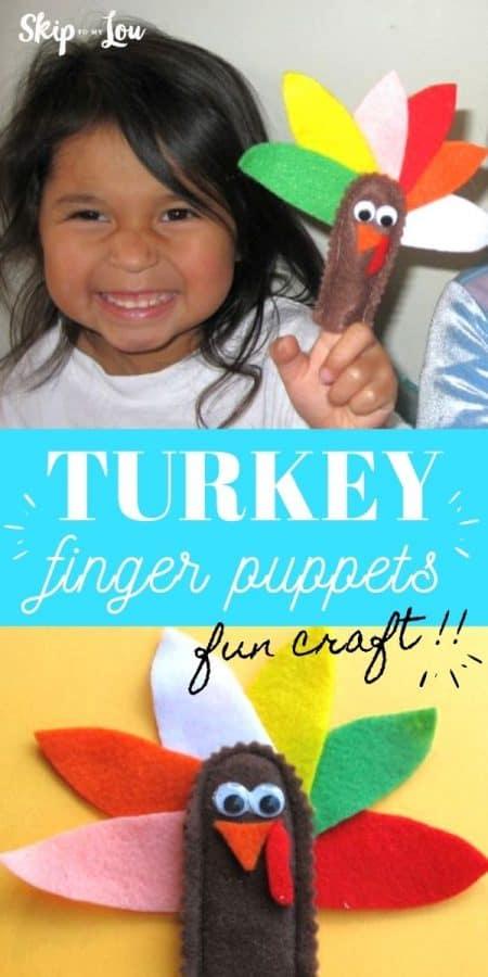 turkey finger puppets PIN
