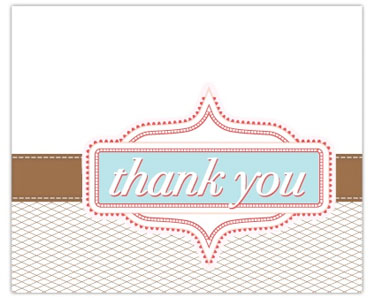 picture about Free Printable Thank You Cards With Photo named No cost Printable Thank On your own Playing cards Miss out on In direction of My Lou