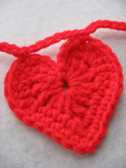 Crochet Heart Garland Skip To My Lou