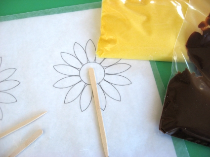 sunflower-cupcake-toppers-supplies
