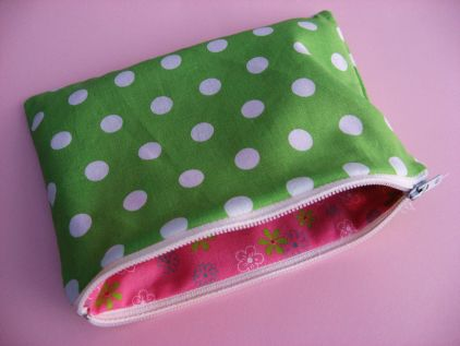How to make a lined zippered pouch tutorial  a63d7fe34e774
