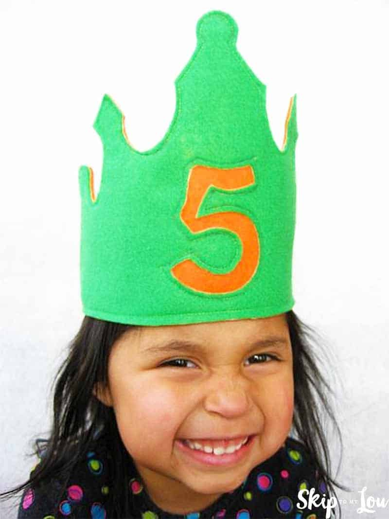 Diy Birthday Crown Fit For A King Or Queen Skip To My Lou