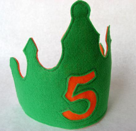 felt-birthday-crown