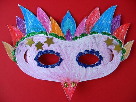 Printable Mardi Gras Mask | Skip To My Lou