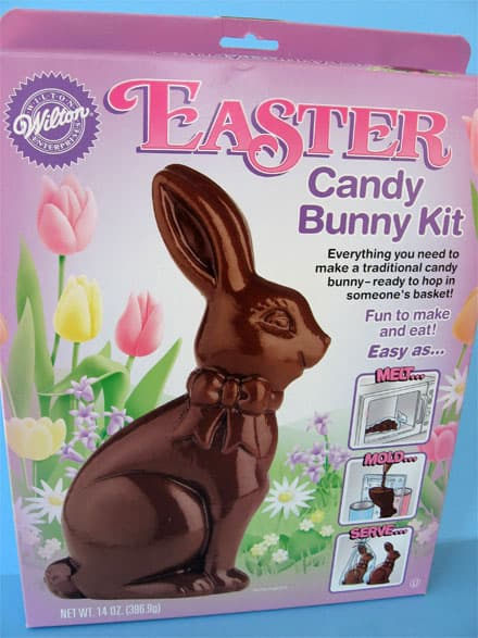 Make Your Own Chocolate Easter Bunny Skip To My Lou