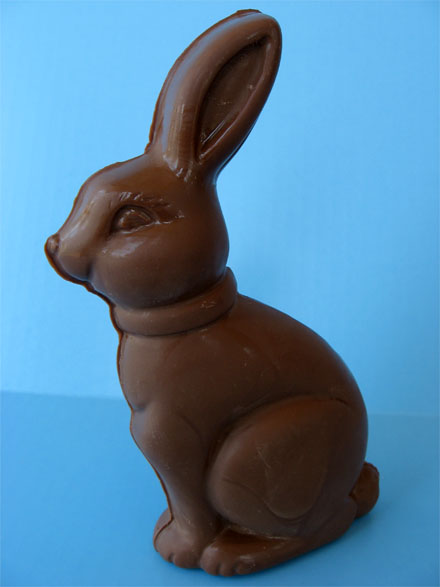 Easter Candy Eggs: Make Your Own Chocolate Easter Bunny