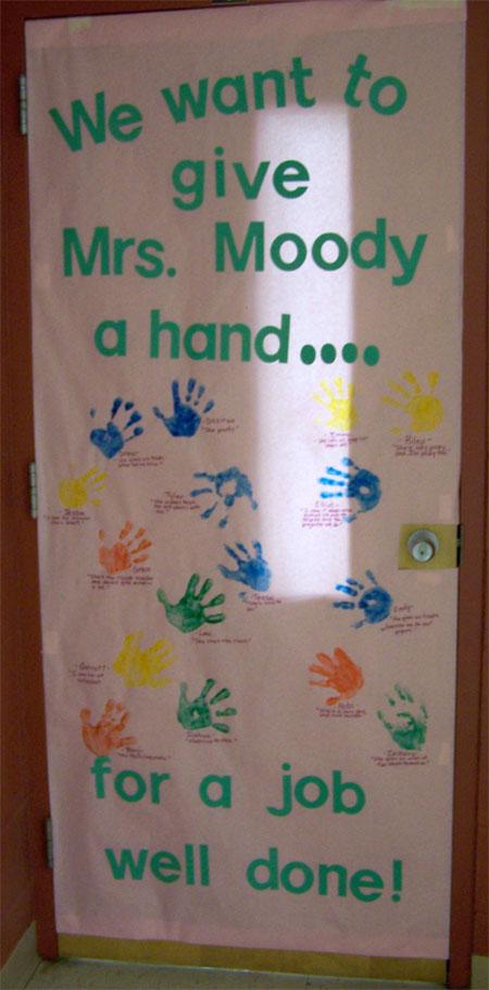 Classroom Door Ideas November ~ Teacher appreciation door decorations skip to my lou
