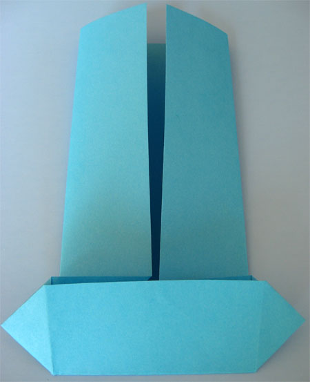origami card for fathers day