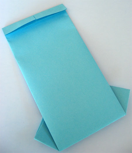 folded fathers day card
