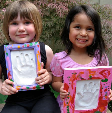 Plaster Handprints For Mother S Day Skip To My Lou