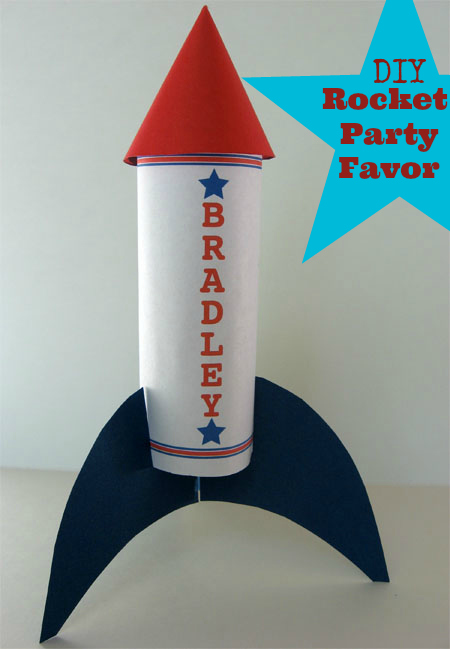 4th of july rocket cake