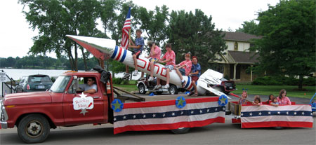 fourth of july float ideas