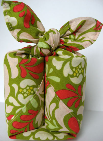 Furoshiki craft design scribbles for Japanese wrapping
