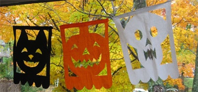 Papel Picado Halloween Banners Skip To My Lou
