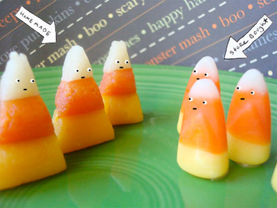 Adults might like a Candy Corn Cordial with candy corn infused vodka ...