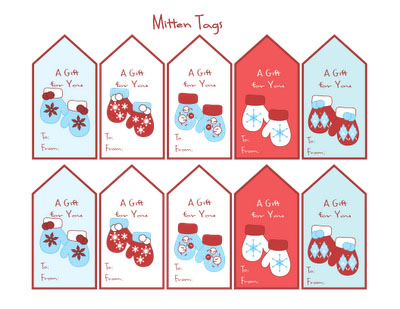 photograph relating to Printable Christmas Stickers called Printable Family vacation Tags and Stickers Miss In direction of My Lou