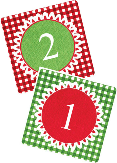 image about Advent Calendar Numbers Printable identified as Remaining Instant Printable Introduction Calendar Pass up Towards My Lou