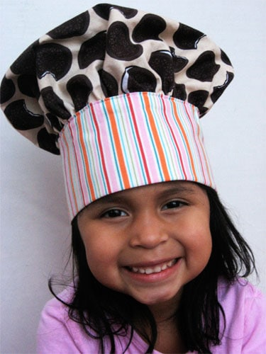 How To Make A Child S Chef Hat Skip To My Lou