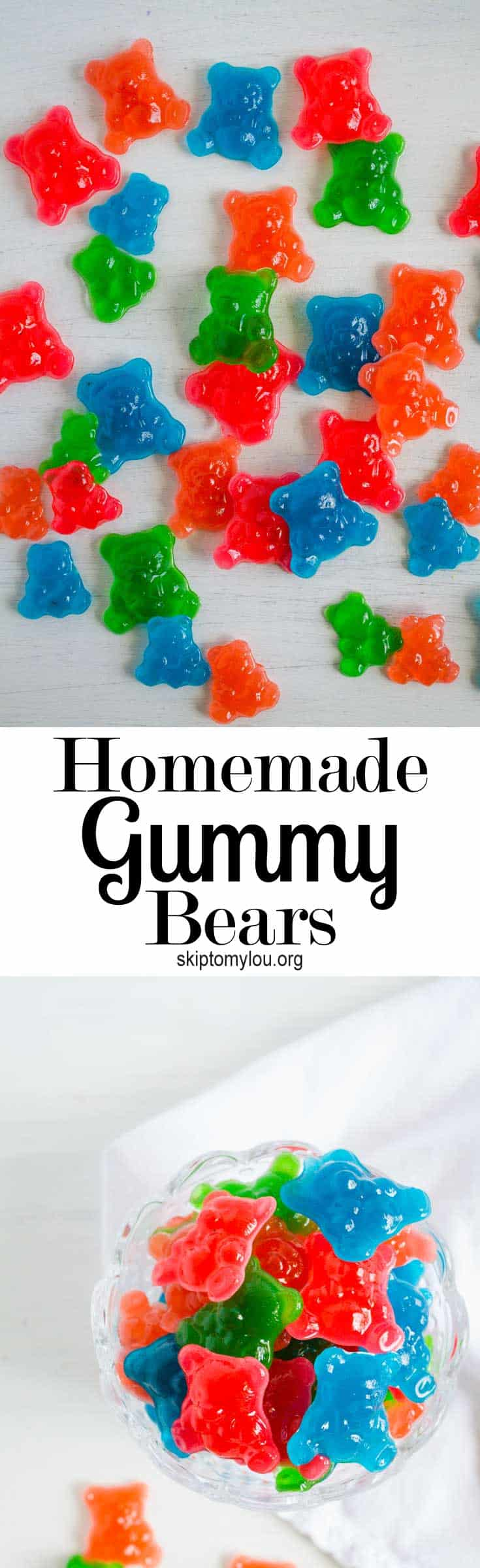 Gummy Candy Recipe - How To Make Gummy Bears | Skip To My Lou
