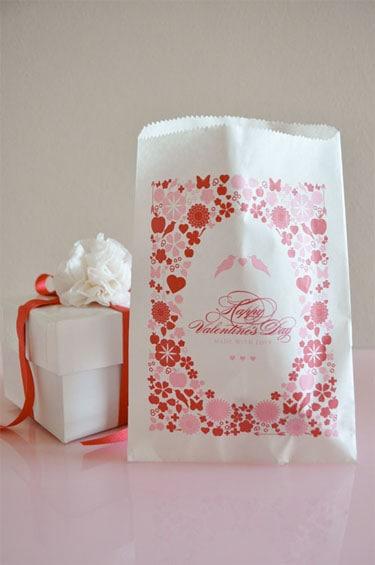 printable valentine treat bags  u0026 favor boxes