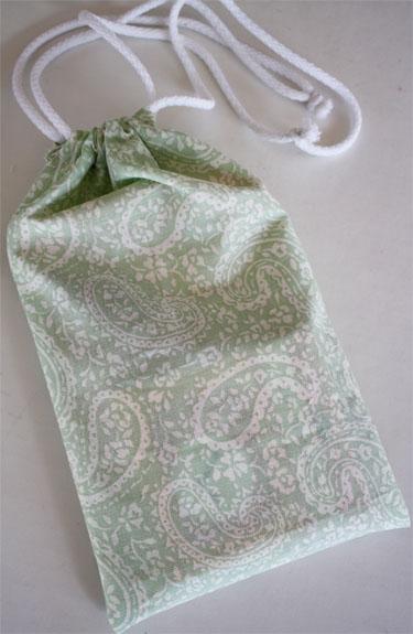 A Drawstring Bag Tutorial