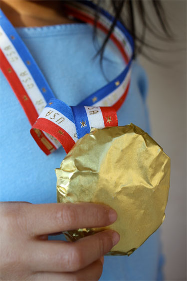 Olympic Medal cookie