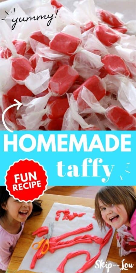 homemade taffy PIN