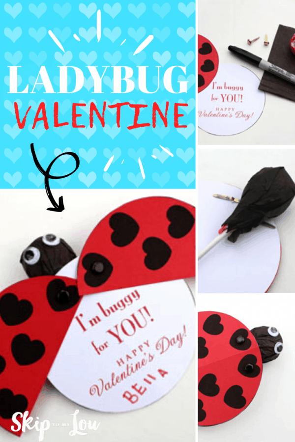 ladybug valentine craft PIN