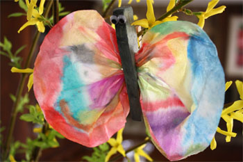 Earth Day Craft: Beautiful Butterflies