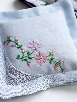 white and floral and floral print lavender sachets mother's day gift ideas