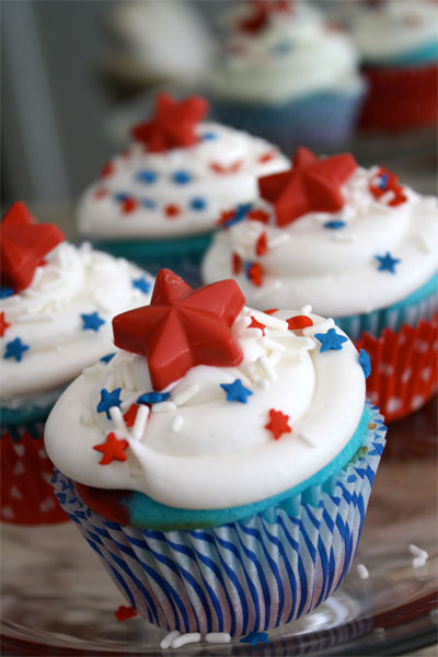 4th of july cupcake decorations