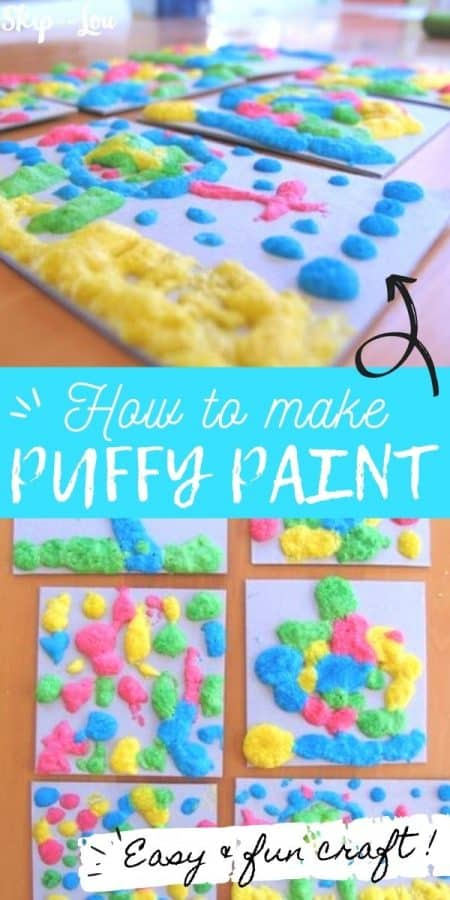 puffy paint craft PIN