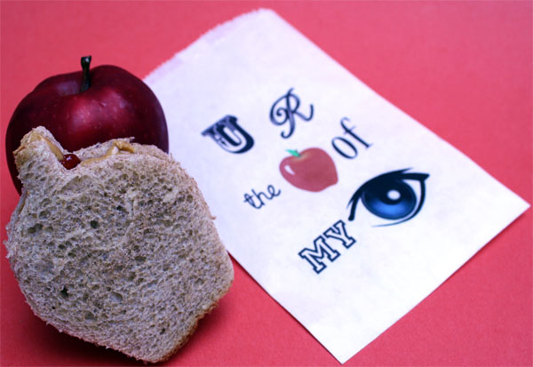 Printable Sandwich Bag for Back-to-School