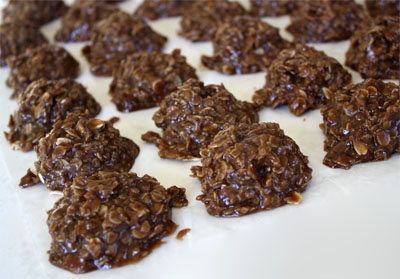 No Bake Chocolate Peanut Butter Oatmeal Cookies Without Milk