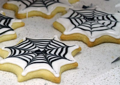 Spider Web Cookies Skip To My Lou