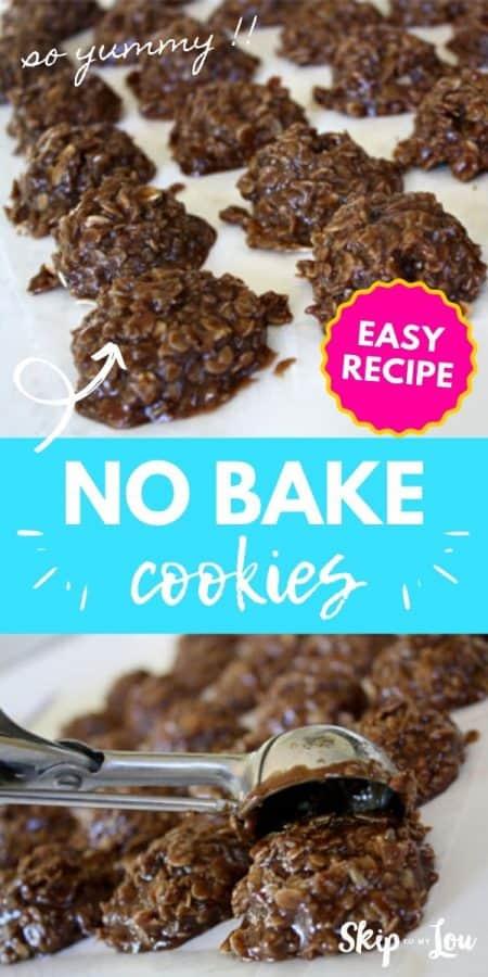 no bake cookies recipe PIN