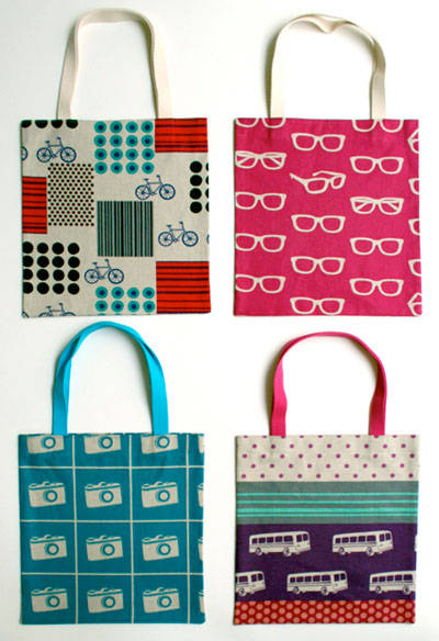 10 Free Tote Bag Patterns and Tutorials | Skip To My Lou